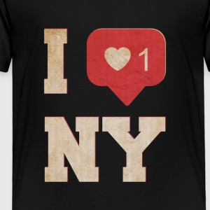 I love new york - Toddler Premium T-Shirt