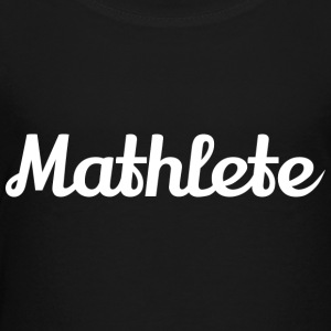 Mathlete Womens Tshirt - Toddler Premium T-Shirt