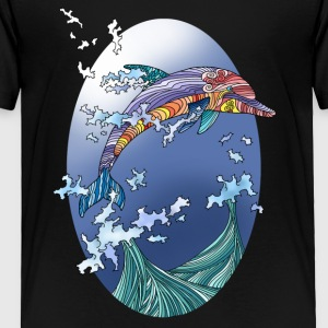 dolphin - Toddler Premium T-Shirt