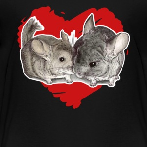 Chinchilla Love Tee Shirt - Toddler Premium T-Shirt