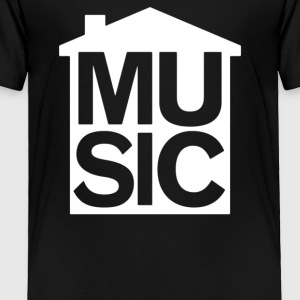 House Music Symbol - Toddler Premium T-Shirt