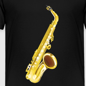 Saxophone, musical instrument, sax - Toddler Premium T-Shirt