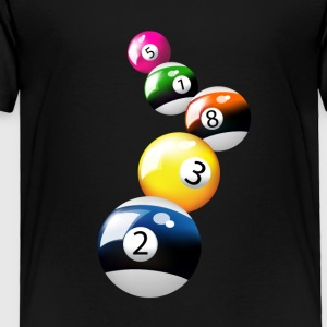 billiard pool - Toddler Premium T-Shirt