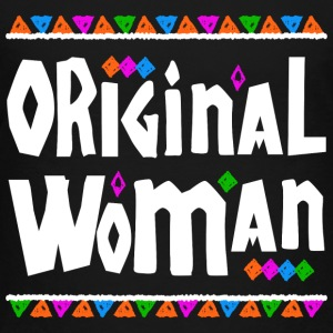 Original Woman - Tribal Design (White Letters) - Toddler Premium T-Shirt