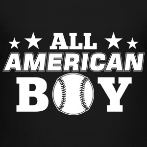 All American Boy! USA Patriot Proud Independence - Toddler Premium T-Shirt