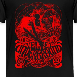 The Velvel Underground Black Snake - Toddler Premium T-Shirt