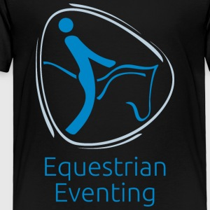 Equestrian_eventing - Toddler Premium T-Shirt