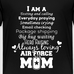 AIR FORCE MOM TEE SHIRT - Toddler Premium T-Shirt