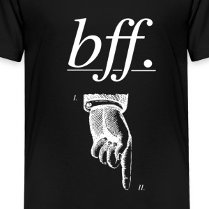 best friends forever BFF - Toddler Premium T-Shirt