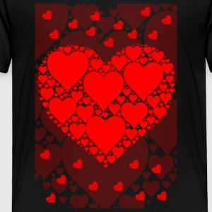 My Lovely Heart - Toddler Premium T-Shirt