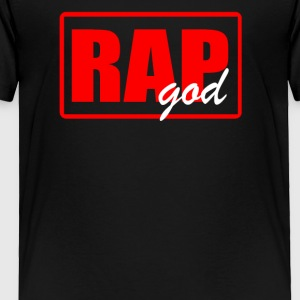 RAP GODRAP GOD - Toddler Premium T-Shirt