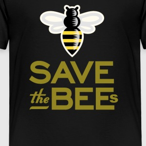 Save The Bees Beekeeper Quote Design - Toddler Premium T-Shirt
