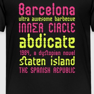 Barcelona ultra awesome barbecue - Toddler Premium T-Shirt