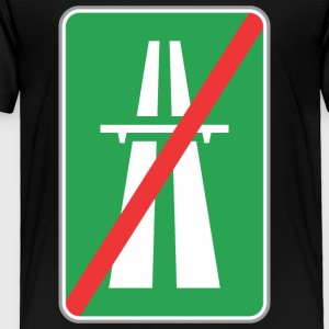 Road_sign_restricted_green_way - Toddler Premium T-Shirt