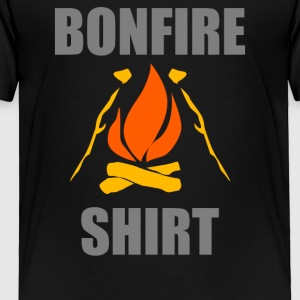 Bonfire Party Fire - Toddler Premium T-Shirt