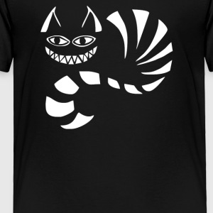 Cheshire Cat Alice In Wonderland Funny - Toddler Premium T-Shirt