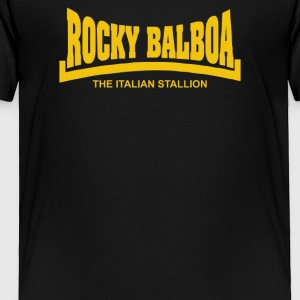 Rocky Balboa The Italian Stallion - Toddler Premium T-Shirt