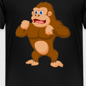 Gorillas escape and raid the Calgary - Toddler Premium T-Shirt