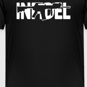 Infidel AR 15 Front US Army Rifle Gun Cost of Ammo - Toddler Premium T-Shirt