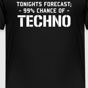 TECHNO - Toddler Premium T-Shirt
