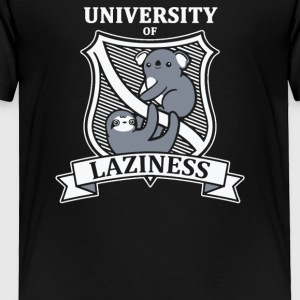 University Of Laziness - Toddler Premium T-Shirt