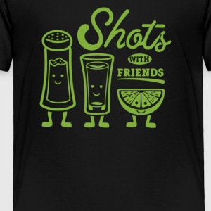 Shots With Friends - Toddler Premium T-Shirt