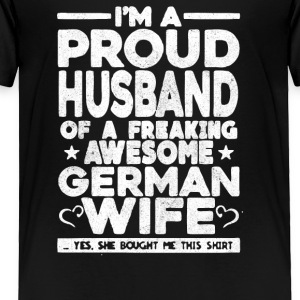 Proud Husband - Toddler Premium T-Shirt