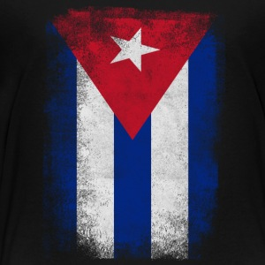 Cuba Flag Proud Cuban Vintage Distressed - Toddler Premium T-Shirt