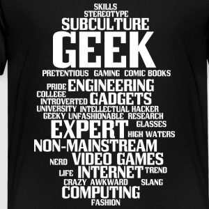 Geek (geeky, nerd) - Toddler Premium T-Shirt