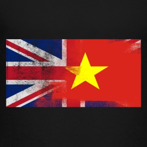British Vietnamese Half Vietnam Half UK Flag - Toddler Premium T-Shirt