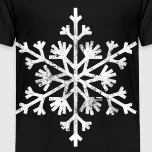 Big snowflake christmas t shirt - Toddler Premium T-Shirt