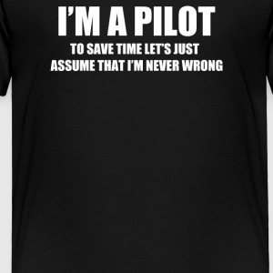 I'am Pilot - Toddler Premium T-Shirt