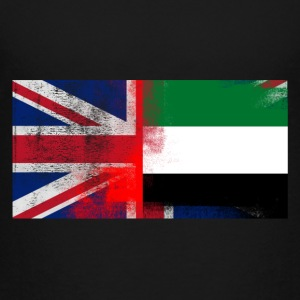 British Emirati Half United Arab Emirates Half UK - Toddler Premium T-Shirt