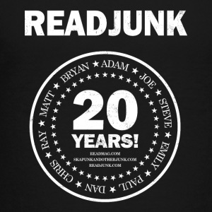 ReadJunk.com 20th Anniversary (white) - Toddler Premium T-Shirt