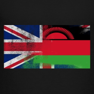 British Malawian Half Malawi Half UK Flag - Toddler Premium T-Shirt