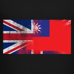 British Taiwanese Half Taiwan Half UK Flag - Toddler Premium T-Shirt