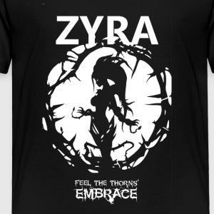 "Zyra ""Feel the thorns, Embrace"" - Toddler Premium T-Shirt"