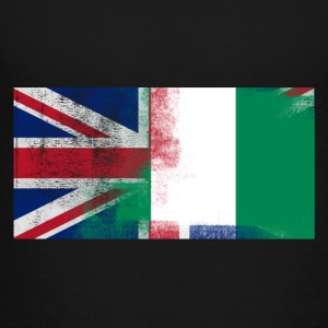 British Nigerian Half Nigeria Half UK Flag - Toddler Premium T-Shirt