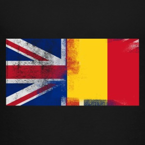 British Romanian Half Romania Half UK Flag - Toddler Premium T-Shirt