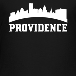 Vintage Style Skyline Of Providence RI - Toddler Premium T-Shirt