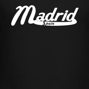 Madrid Spain Vintage Logo - Toddler Premium T-Shirt