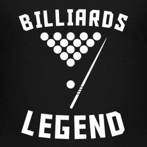 Billiards Legend Pool Player - Toddler Premium T-Shirt