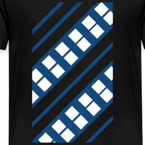 Blue and White Pattern - Toddler Premium T-Shirt