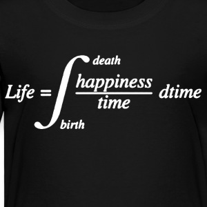 Math Life Tee Shirt - Toddler Premium T-Shirt