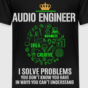 AUDIO ENGINEER - Toddler Premium T-Shirt