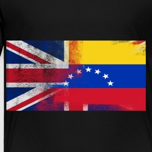 British Venezuelan Half Venezuela Half UK Flag - Toddler Premium T-Shirt