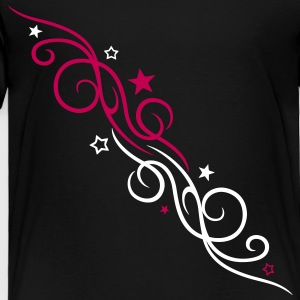 Filigree tribal with stars - Toddler Premium T-Shirt