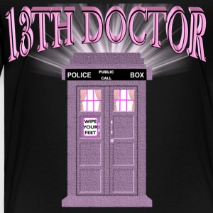 13th Doctor Is In Police Box - Toddler Premium T-Shirt