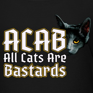 all cats are bastards - ACAB - Toddler Premium T-Shirt