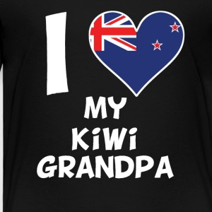 I Heart My Kiwi Grandpa - Toddler Premium T-Shirt
